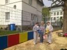 Projektwoche Gewaltprävention / Verschönerung des Schulhofs Frühjahr 2014